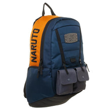 Load image into Gallery viewer, Naruto Hidden Leaf Village Built-Up Backpack