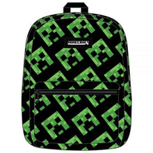 Load image into Gallery viewer, Minecraft Creeper Backpack