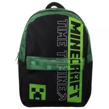 Load image into Gallery viewer, Minecraft Time To Mine Backpack