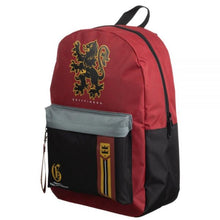 Load image into Gallery viewer, Harry Potter Gryffindor Mixblock Backpack with Webbing Puller