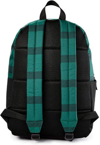 Harry Potter Slytherin House Stripe with Trunk Backpack