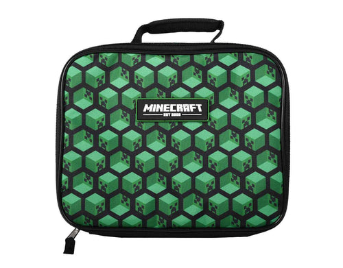 Minecraft Creepers Blocks Lunch Bag - Merch Rocks