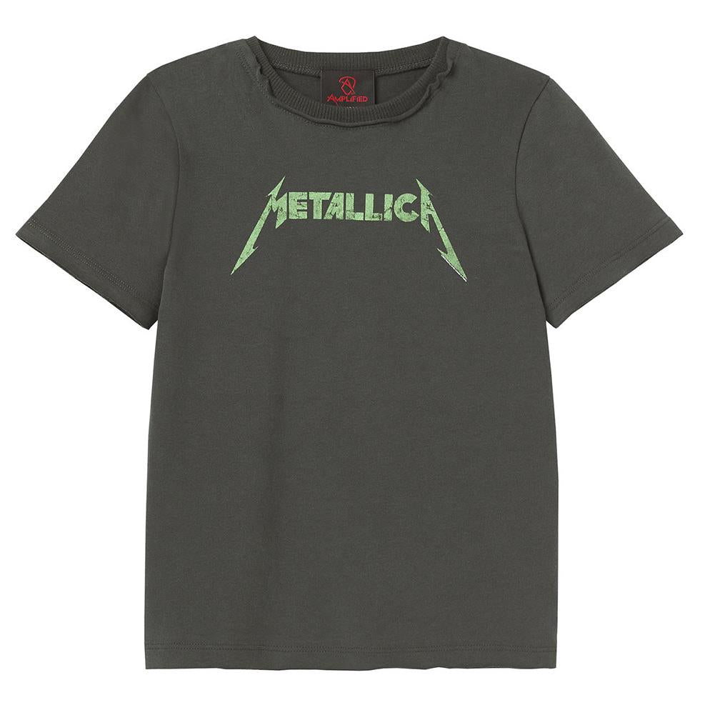 Amplified Metallica Logo Kids T-Shirt - Merch Rox