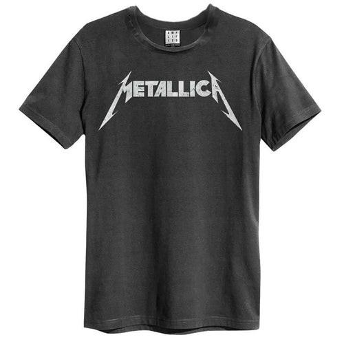 Amplified Metallica Logo T-Shirt - Merch Rox