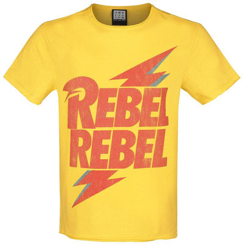 Amplified David Bowie Rebel Rebel T-Shirt - Merch Rocks