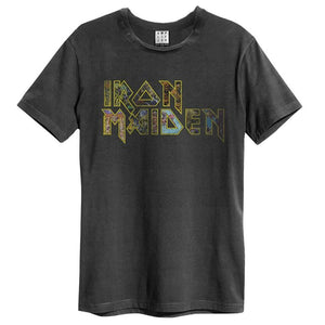 Amplified Iron Maiden Eddies Logo T-Shirt - Merch Rox