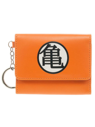 Dragon Ball Z Logo Tri-Fold Purse - Merch Rox