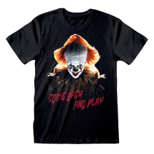 Load image into Gallery viewer, IT Chapter 2 Come Back And Play T-Shirt