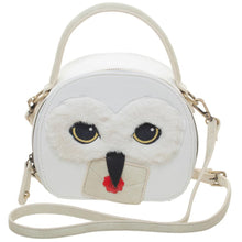 Load image into Gallery viewer, Harry Potter Hedwig Mini Hatbox Handbag