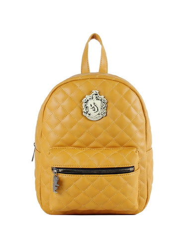 Harry Potter Backpack Hufflepuff Crest Backpack - Merch Rox