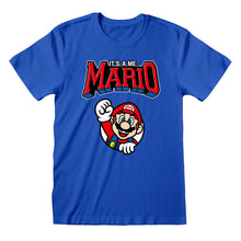 Load image into Gallery viewer, Nintendo Super Mario Varsity T-shirt