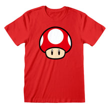 Load image into Gallery viewer, Nintendo Super Mario Power Up Mushroom  T-Shirt