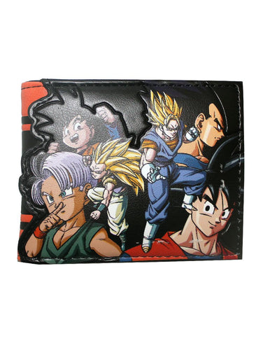 Dragon Ball Z Character Logo Wallet - Merch Rox