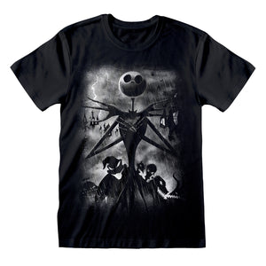 The Nightmare Before Christmas Stormy Skies T-Shirt