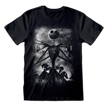 Load image into Gallery viewer, The Nightmare Before Christmas Stormy Skies T-Shirt