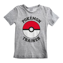 Load image into Gallery viewer, Pokemon Trainer Grey T-Shirt