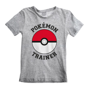 Pokemon Trainer Grey T-Shirt