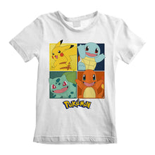 Load image into Gallery viewer, Pokemon Squares White T-Shirt