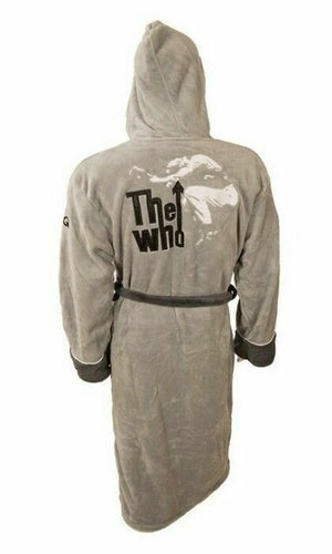The Who Leap Grey Bathrobe - Merch Rocks