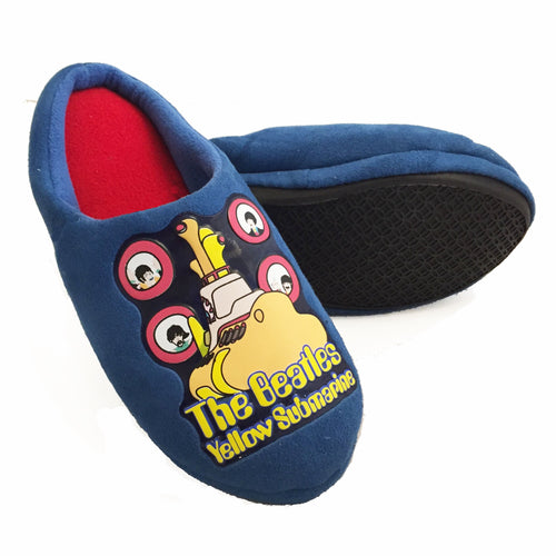 The Beatles Kids Yellow Submarine Mule Slippers-Boys N Girls - Merch Rocks