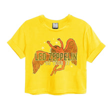 Load image into Gallery viewer, Amplified Led Zeppelin Icarus Crop Top