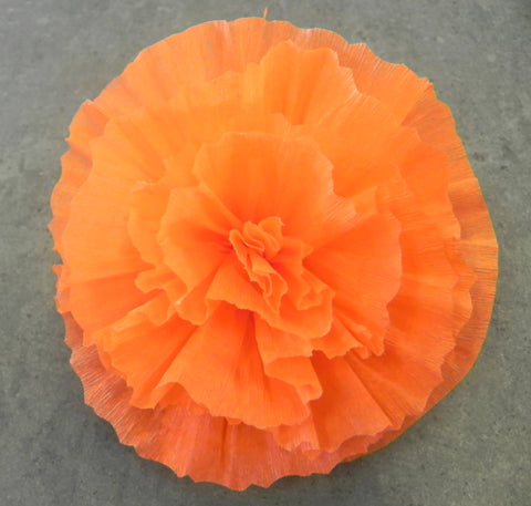 "Free Shipping Flower Hair Clip Orange 5"" By Julia"