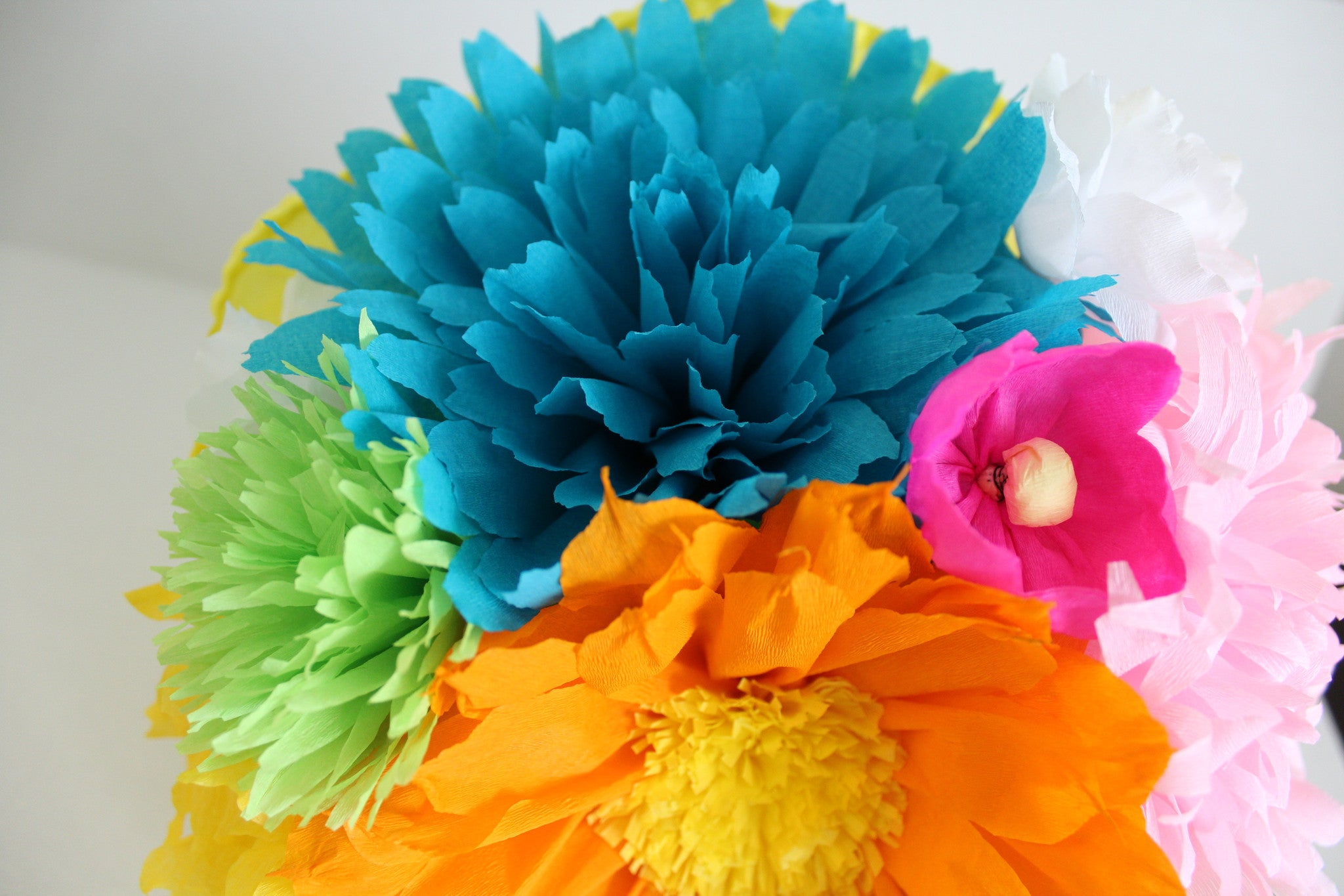 Large bouquet mexican crepe paper flowers multicolor we make large bouquet mexican crepe paper flowers multicolor we make special orders by julia mightylinksfo