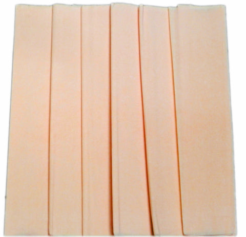 Free shipping Crepe Paper 6 Sheets Peach color / Paper Flowers/ Wedding - Party Decoration