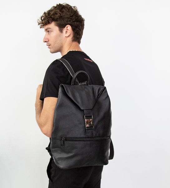Cyc Lab Leather Backpack