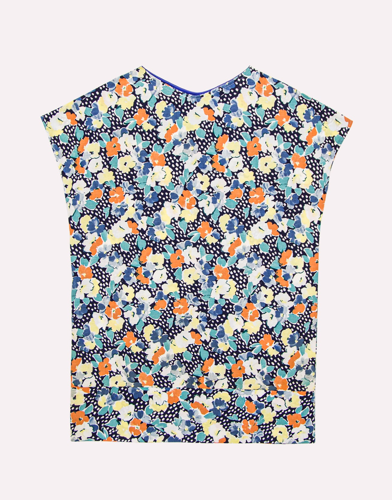 Razzmatazz Blue Floral Dress