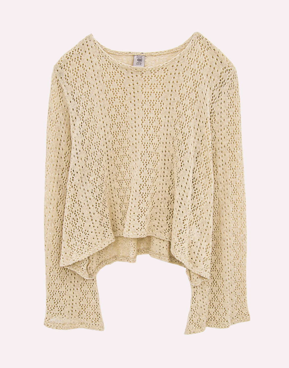 Berequette Knitted Beige Top