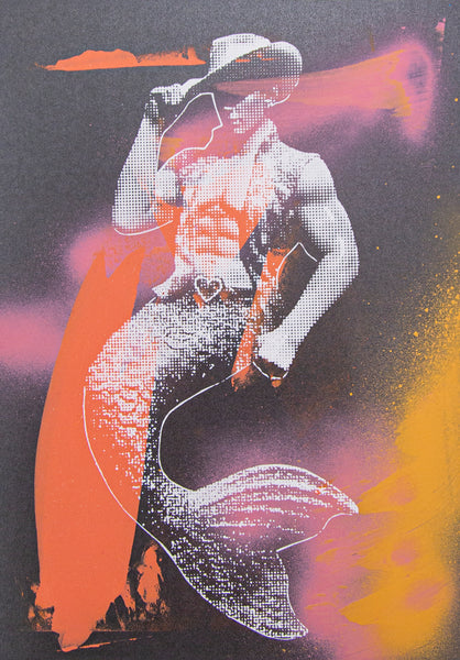 The Dreamer Merman Print