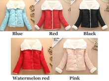 Load image into Gallery viewer, Warm Wool Cotton-padded Jacket Short Coat For Big Sale!- xikeoo.com