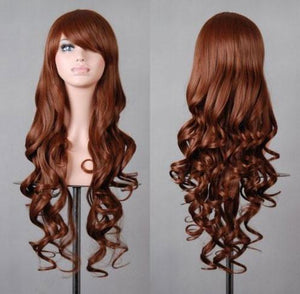 Long Colorful Loose Wave Cosplay Hair Wigs - xikeoo