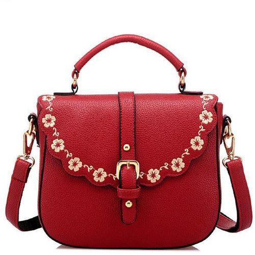 Latest Embroidery Shoulder Bags Messenger Bags - xikeoo