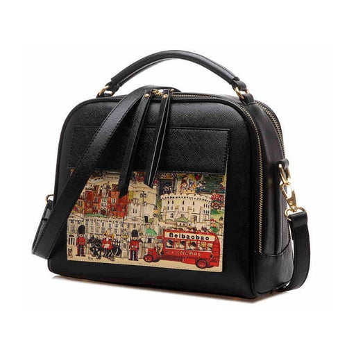 Modern Graffiti Cartoon Shoulder Bags/Handbags - xikeoo