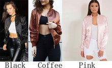 Load image into Gallery viewer, Women's Cotton Candy Color Pink Bomber Jacket For Big Sale!- xikeoo.com
