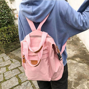 Leisure Multi-function Handbag Girl School Bag Student Backpack