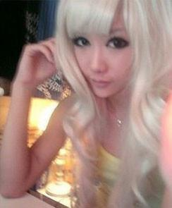 Cosplay Series Cartoon Long Curly Hair Wigs - xikeoo