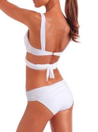 Angel Stripe Wrap Sexy Bikini&Swimsuit - cutespree