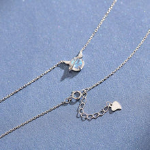 Load image into Gallery viewer, Fashion Little Devil Pendant Simple Dream Crystal Silver Temperament Necklace
