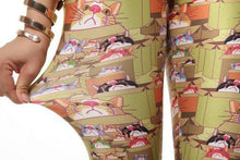Load image into Gallery viewer, Creative Lucky Cat Printed Leggings - xikeoo