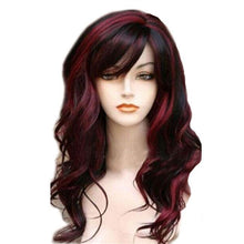 Load image into Gallery viewer, New Curls Big Wave Gradient Brown Women Hair Wigs
