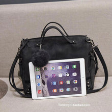 Load image into Gallery viewer, Punk Frosted Rivet Multi-function Handbag Shoulder Bag