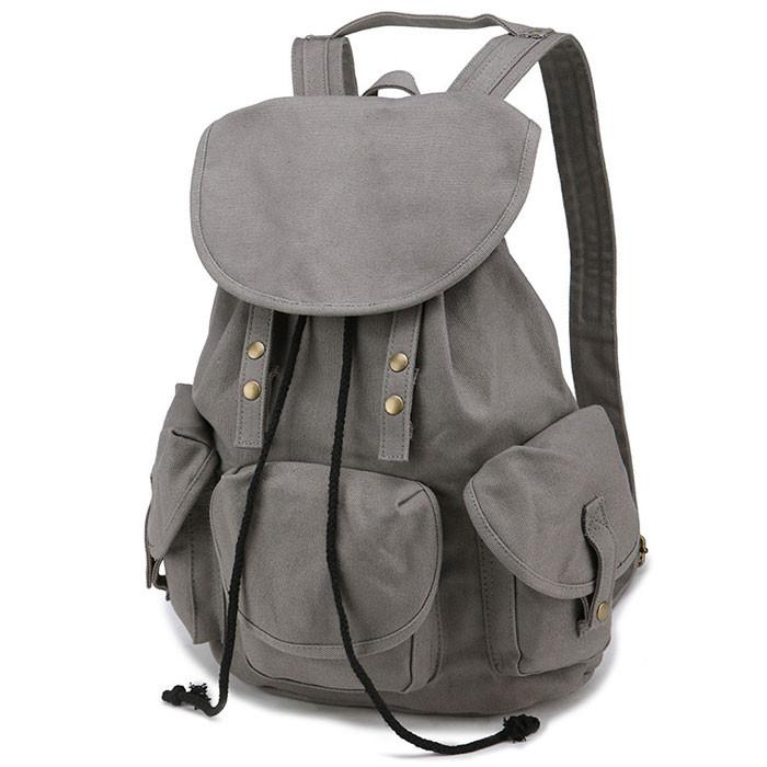 Unique High School Bag Leisure Student Travel Canvas Backpack For Big Sale!- cutespree.com