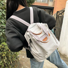 Load image into Gallery viewer, Leisure Multi-function Handbag Girl School Bag Student Backpack