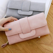 Load image into Gallery viewer, Retro Girl's Square Whole Color PU Purse Phone Wallet Clutch Bag For Big Sale!- xikeoo.com