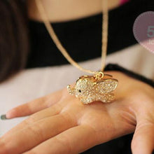 Load image into Gallery viewer, Super Cute Baby Elephant Animal Pendant Necklace For Big Sale!- xikeoo.com