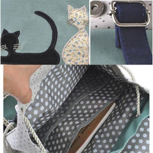 Load image into Gallery viewer, Fresh Cat Lace Leisure School Backpack - xikeoo