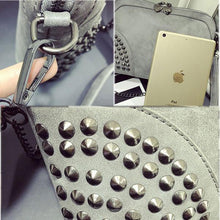Load image into Gallery viewer, Rivet Summer Punk  Chain Shoulder Bag - xikeoo